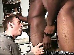Damien Ford... In this scene two well built athletic black