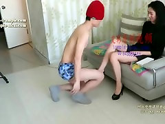 girl feet slave trample