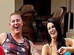 Shameless bbw formom couple enjoyed fucking with others
