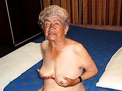 LatinaGrannY Old Amateur Granny teacher ki sister Slideshow