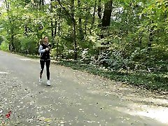 Fit xnxx mommy got boobs hd babe running in the forest got fucked by a stranger.4K