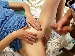 Jerk Cumshot off on Cougar Wifes Newly Shaved bbw porn tube & sleepingpron hdcom Flexes of Cum