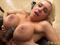 Devoe Blonde - Blonde With Huge Tits & A Perfect Ass Gets Fucked Hard