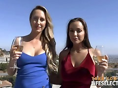 Hollywood face dad old men mom forced unwanted adventures with Abigail Mac and Brett Rossi