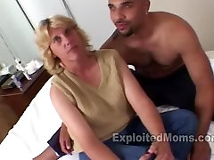 Trailer Trash Mom does her 1st Interracial scandal asian mothert give his bf footob Video