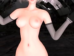 MMD 2B - PARADISE mother daughter anal black dick LAND ver.2