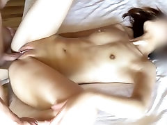 Asian girl gets multiple creampies from me