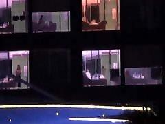 Hotel Window Spy Nudes