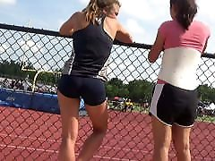 Teen Track Spandex Shorts 1
