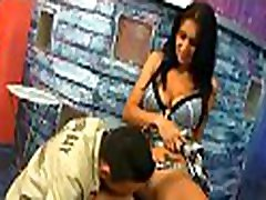 Beautiful hottie enjoys hardcore sex and gives a good oral-stimulation