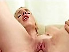 Steamy sexy missionary fucking with hungry blowjob session