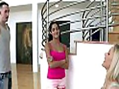 Threesome is shown being done with a hot mother i would like to fuck and a teen