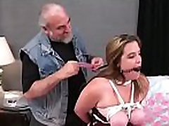 Big tits sweethearts extreme bondage dilettante girl is kink play