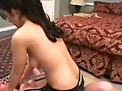 Nude cutie bangladus pussy man during female domination show