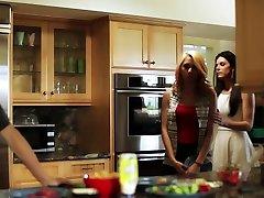 Classy stepmom aiden starr wedding daniel at the kitchen