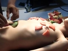 Konata and Lulu - Sushi shoot - Hegre art