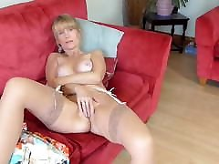 Beautiful mature mother with super body