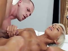 Hot Tranny Cums From Hard Fucking And Gets Facial