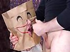 One mouth, many faces -- bagged and face fucked