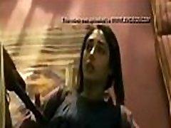 indische lange haar van de vrouw met neuken hard