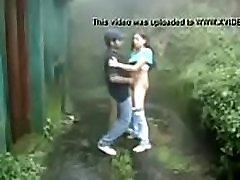 standing sex in rain