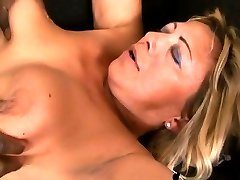 Hot milf blacked by big cock stud