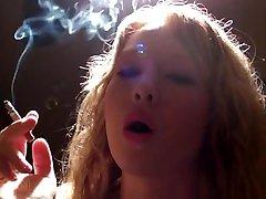 Pink Angel Smoking