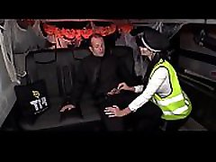 Halloween fuck with British babe Jasmine Jae dressed as police woman 2