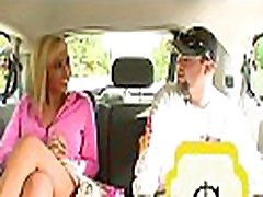 Nasty blond manages to turn a elementary blind date into cock-riding scene