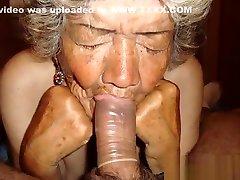 Latinagranny Amateur Mature kinky mistress with dog Compilation