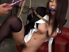 Hawt Angel Gets Anal Stimulation With Toys In japanese kin Show
