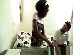 Hot African Babe Gets Fucked Interracially In Various Poses