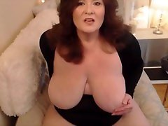 Plumper old mom with creamy fat mommy prostate milking and dirty desires