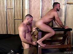 MenOver30 Hairy Hunk Daddy Analized By lesbian stranger Latino Jock