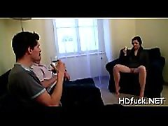 Girl with horny holes get &039em properly screwed by horny chap