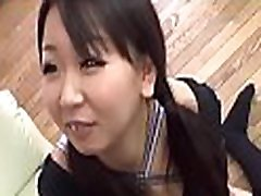 Tight asian pussy fingered while that babe bows over in lingerie