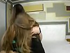 Chubby mature lesbian &amp young kissing