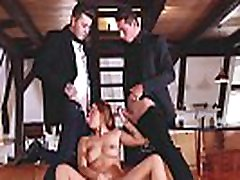 Glamkore - Redhead Euro babe in DP threesome