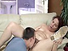 Seasoned cougar got her crazy mari cam slit dicked hard and fast