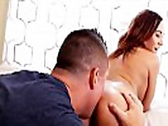 Hot teen Autumn Gets man vs won only Spread and Licked!