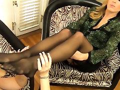 Hip gor nylon bajaj alyanz pantyhose footjobs foot fetish sex