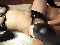 Exotic Japanese girl in Hottest High Heels, MILF JAV movie
