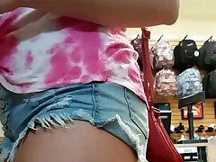 Hot teen upshort tro espaosas toe