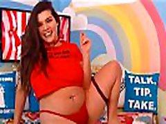 Enchanting big ass xxcxx Brunette Playmate Webcam Show