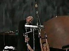 Flaming naked spanking and amateur extreme bondage porn