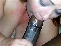 SEXY BBW SUCKS YOUNG BBC STUD