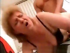 Nasty Big Boobed Slut Blonde Milf