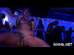 Salacious shafts and slits pleasuring during fuckfest party