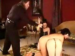 Flogging Brunette Sluts