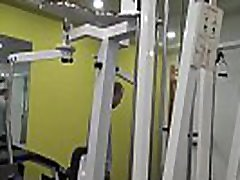 Young Slut Fucks Stranger In Gym For Cash In Front Of Angry BF